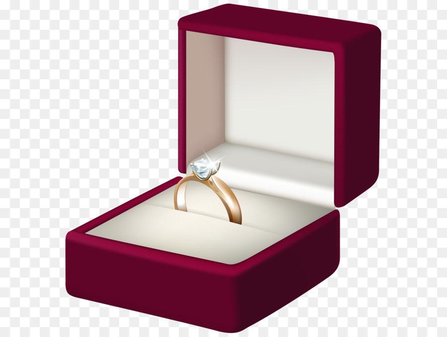 Engagement ring Box Clip art - Engagement Ring Transparent PNG Clip ...