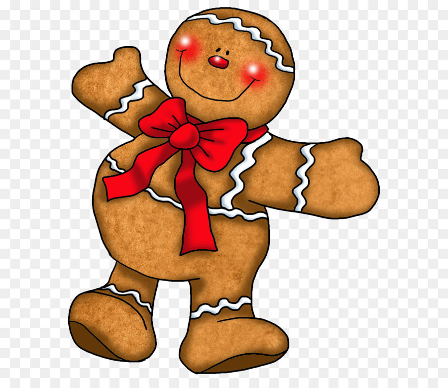 The Gingerbread Man Cookie Clip Art