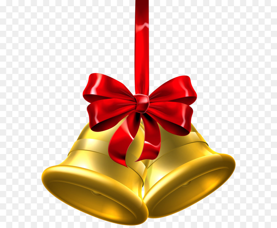 Christmas jingle bell clip art gold christmas bells png clip art