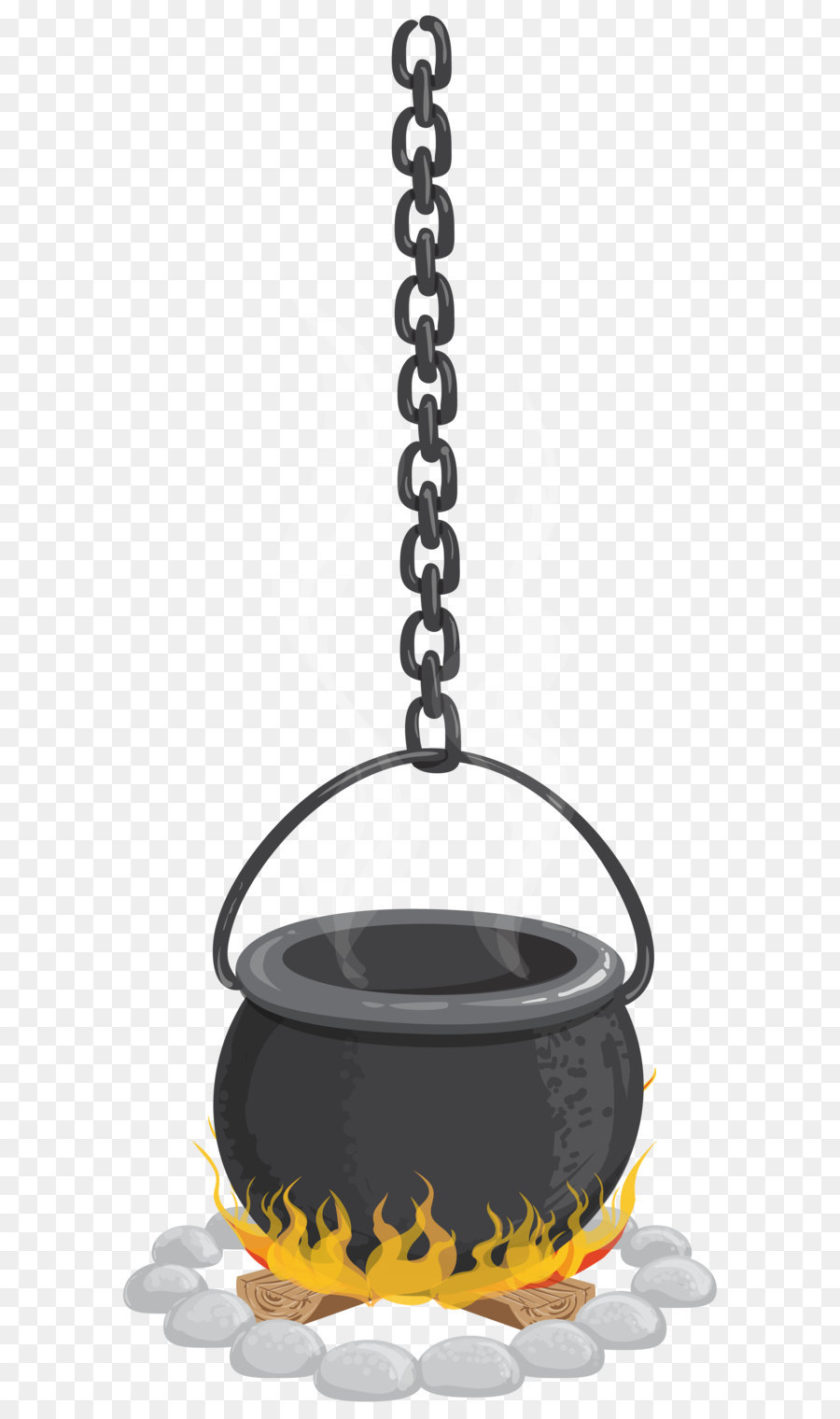 cauldron halloween clip art - hanging witch cauldron png transparent