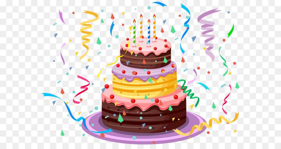 #CUMPLEAÑOS FELIZ#CUMPLEAÑOS FELIZ# TE DESEAMOS A TI# - Página 13 Birthday-cake-with-confetti-png-clipart-picture-5a1c2f89454ba7.9860445815117966172838