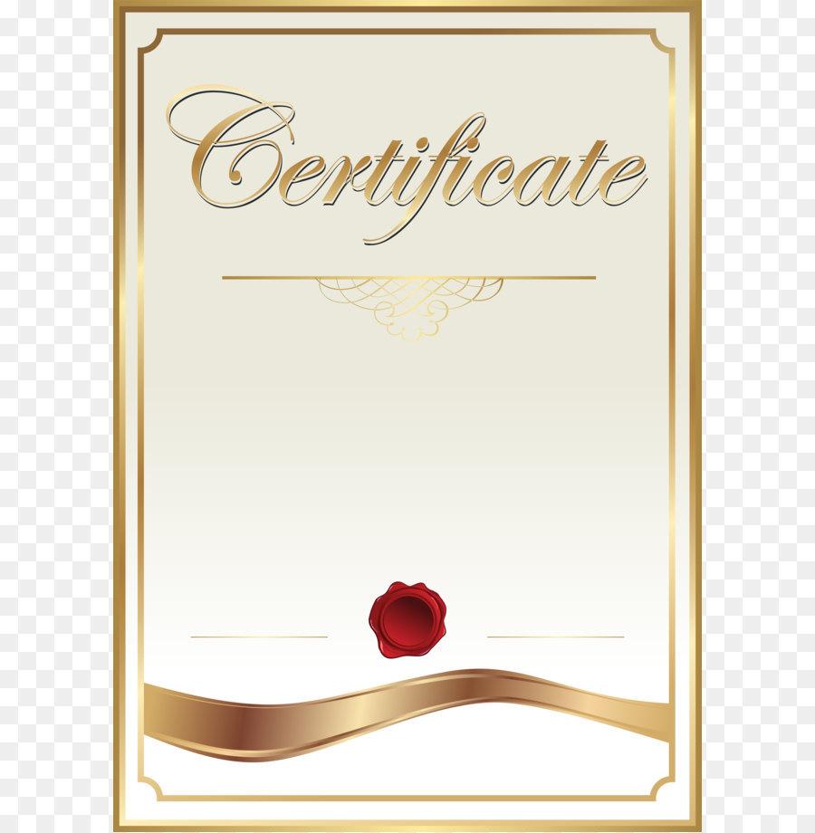 Template Academic Certificate Clip Art Certificate Template Clip