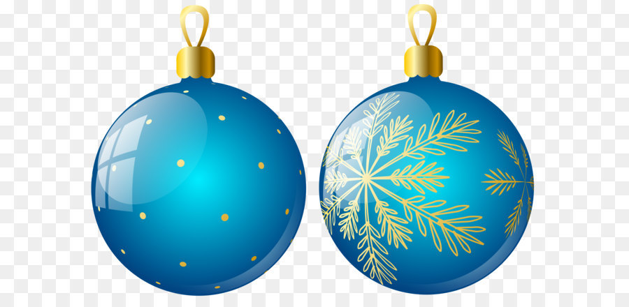 christmas ornament christmas decoration clip art transparent two blue christmas balls ornaments clipart - Blue Christmas Ornaments