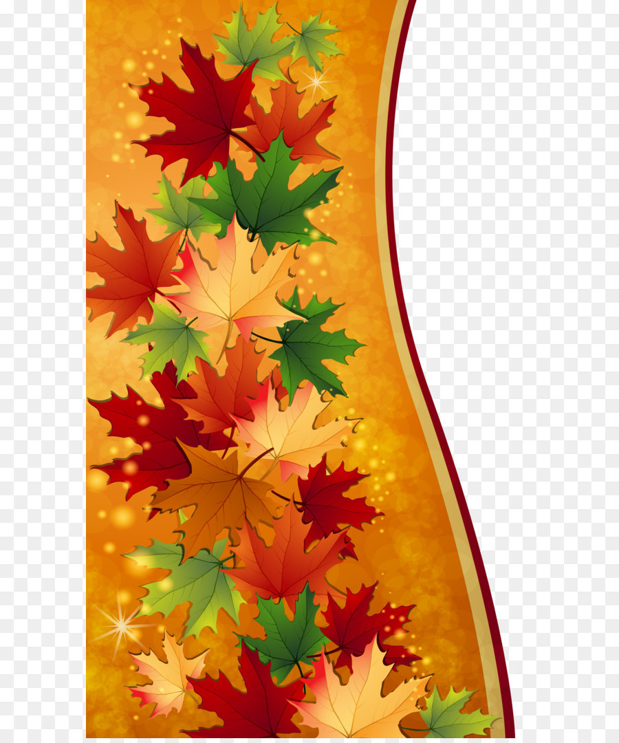 autumn maple leaf clip art autumn leaves decoration png clipart