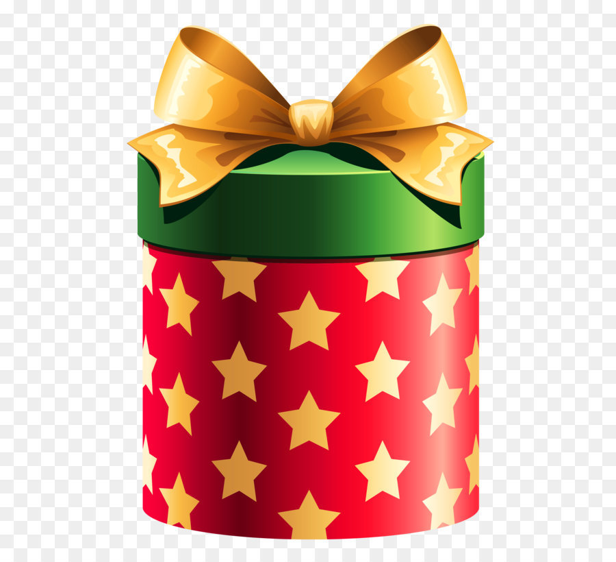 Wrapped christmas gift clipart