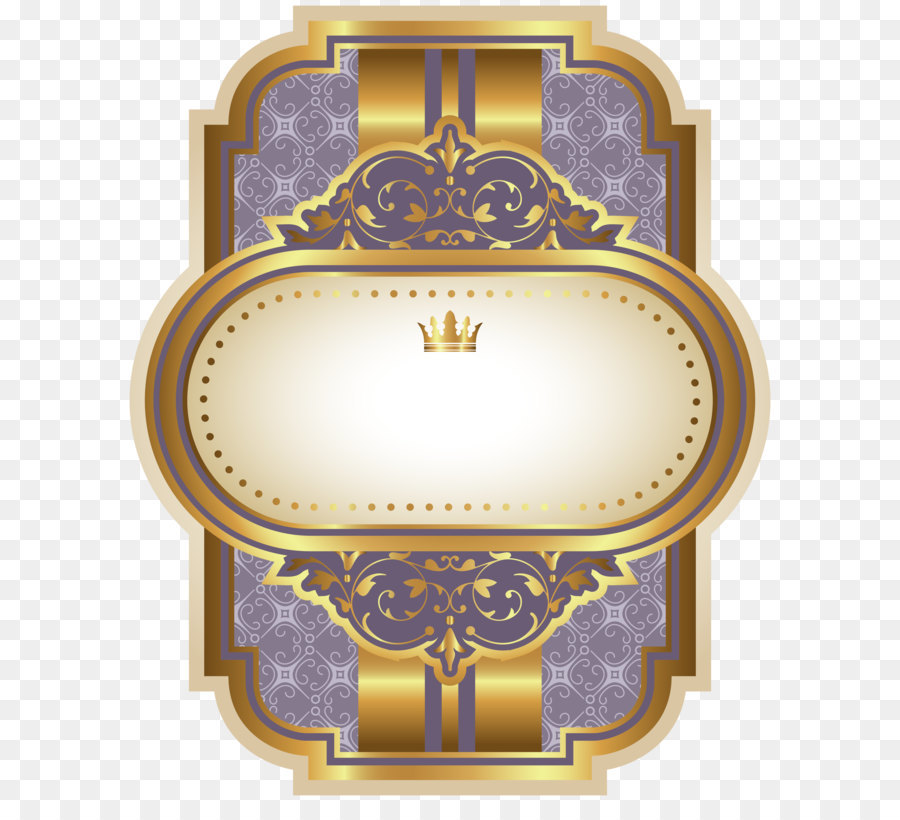 Label Quality Blue Purple Luxury Label Template Clipart Image Png