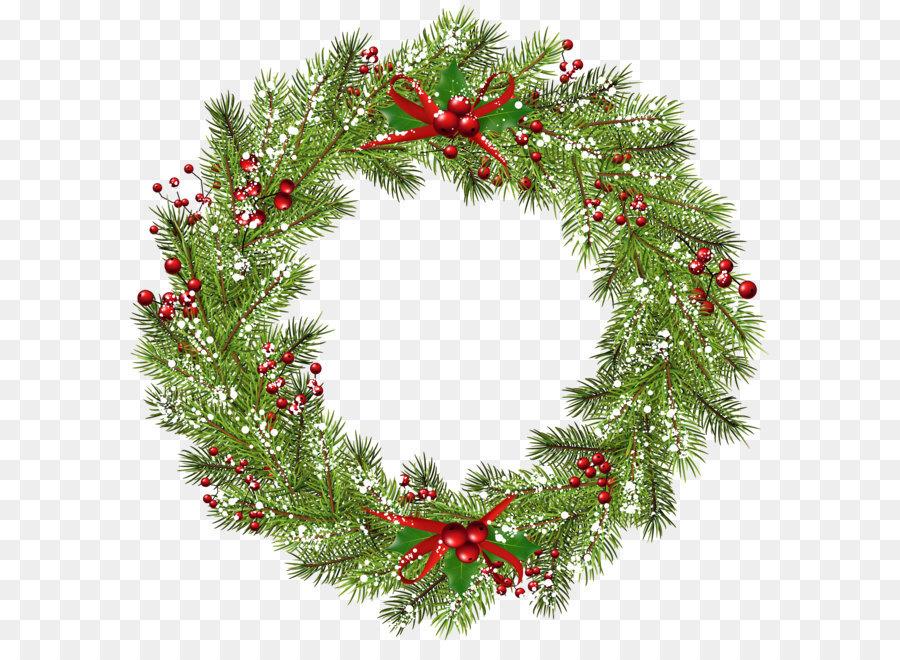 Wreath Christmas Clip Art Christmas Wreath Png Clip Art Image Png