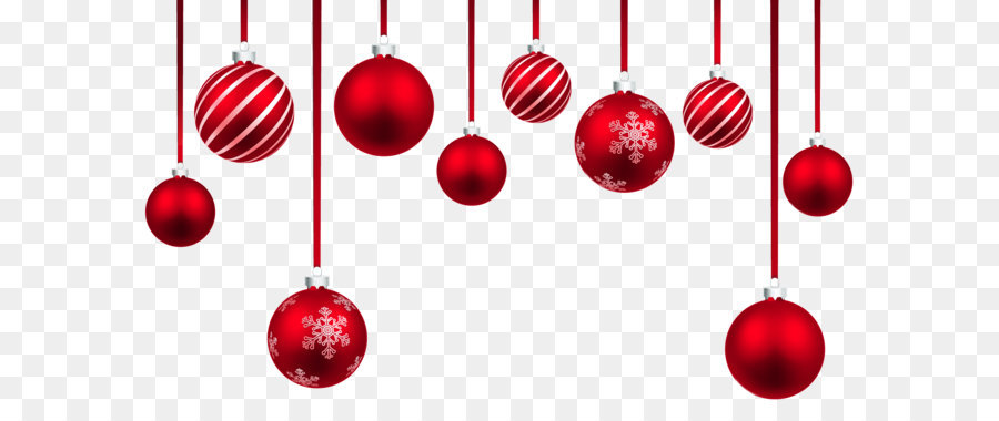 christmas ornament clip art red christmas hanging balls decor png rh kisspng com christmas decorations clipart black and white christmas decorations clipart images