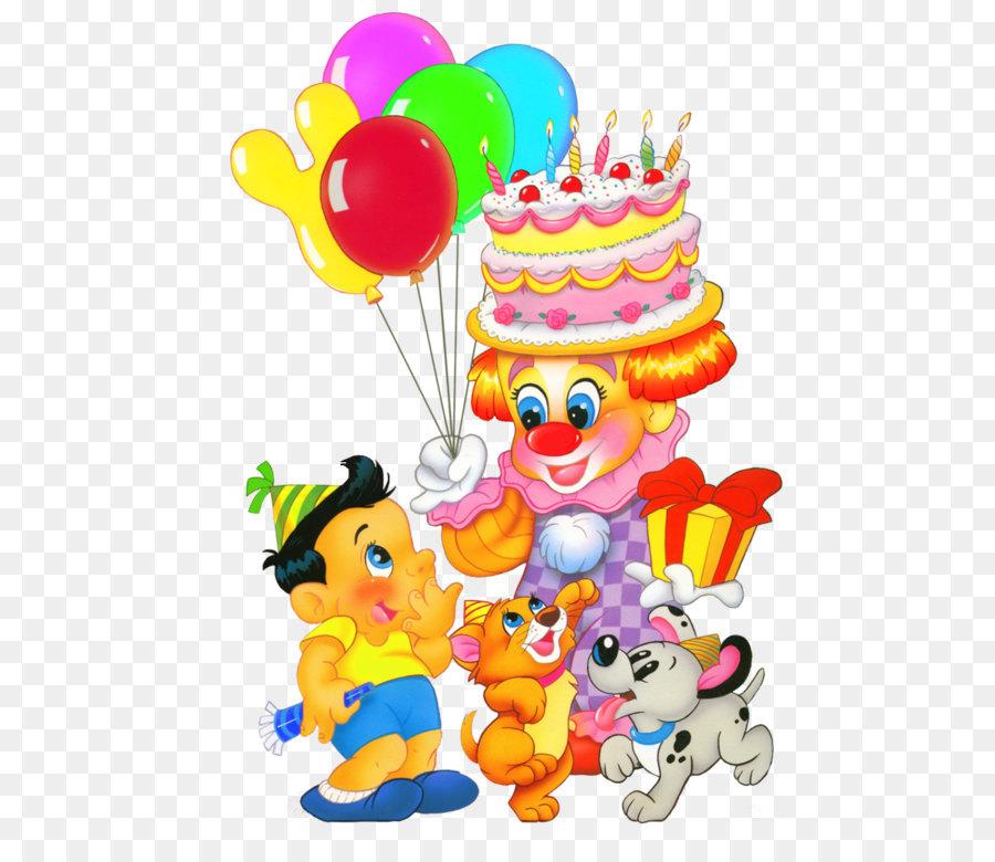 Geburtstag Kuchen Kind Clipart