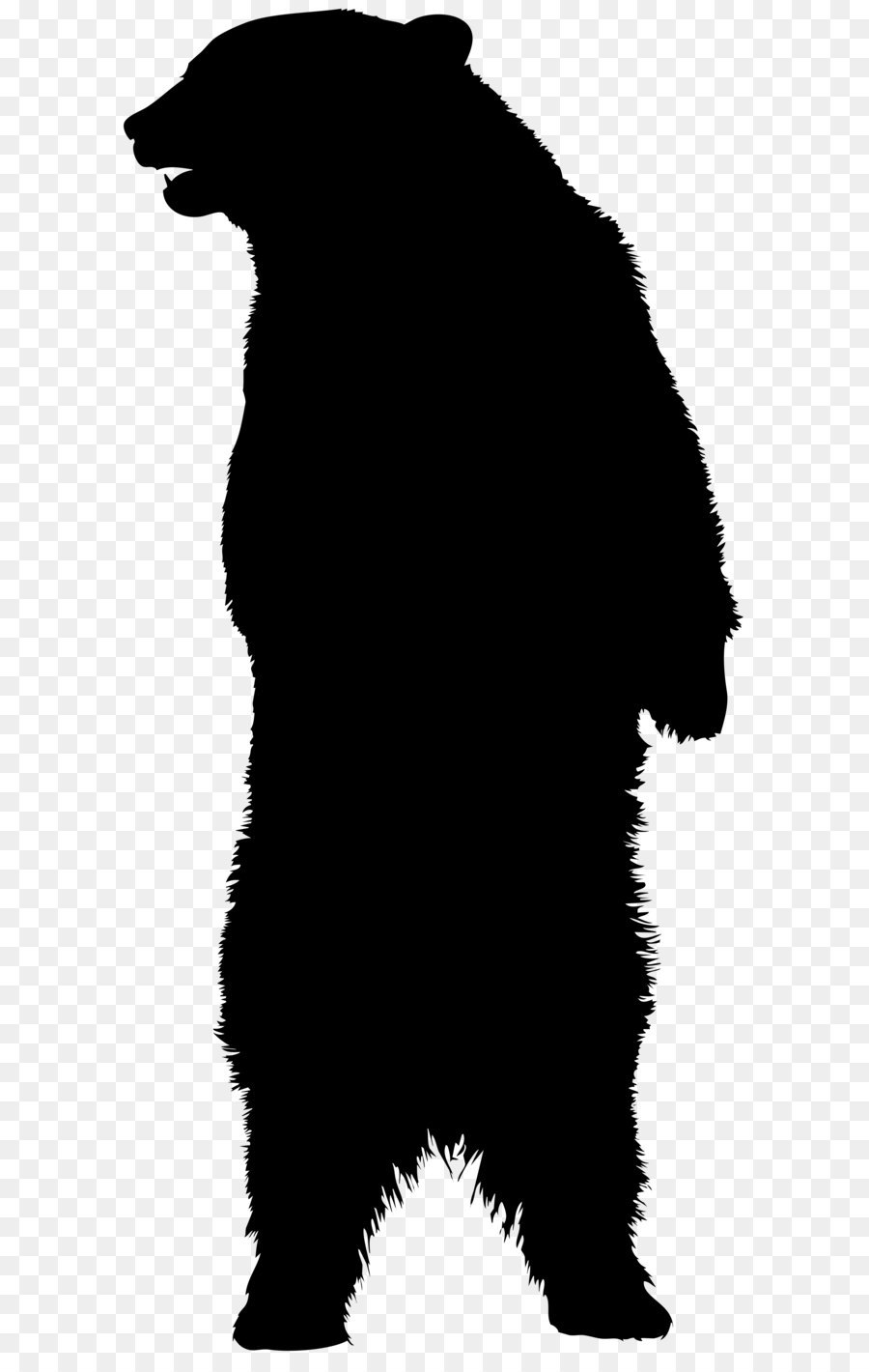 american black bear brown bear silhouette bear silhouette png clip rh kisspng com black bear clipart images black bear clipart black and white