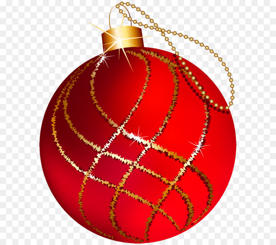 christmas ornament christmas decoration gold christmas tree transparent christmas large red and gold ornament clipart - Large Red Christmas Decorations