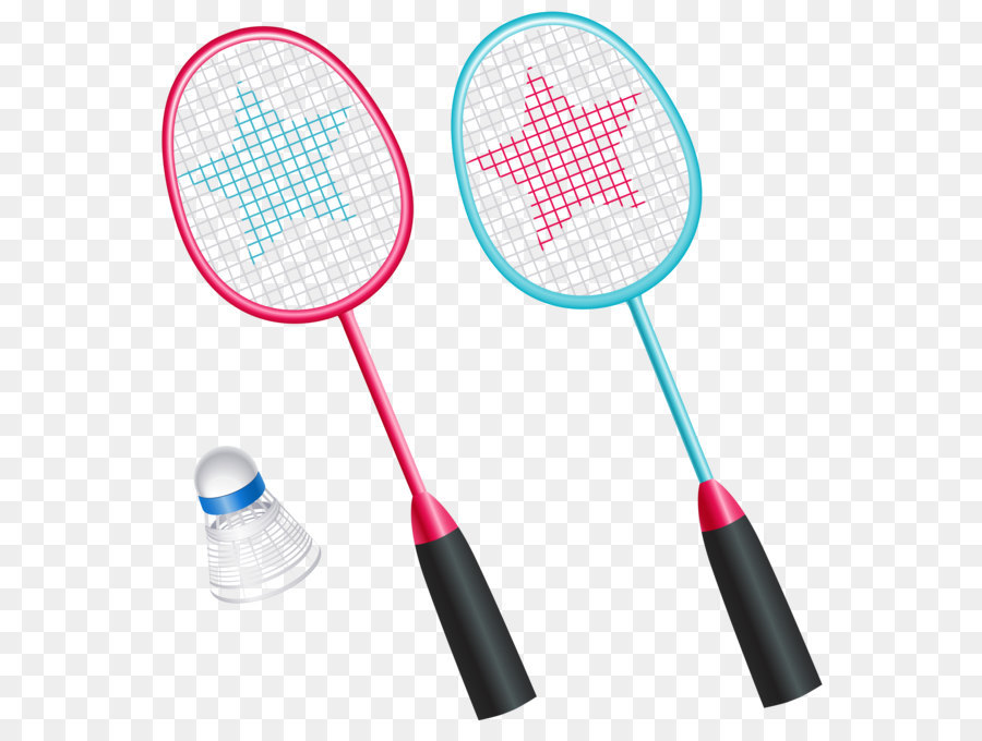 Badminton Racket Shuttlecock Icon Badminton Rackets With