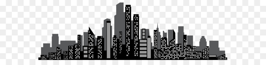 Brand Skyscraper Skyline Black And White