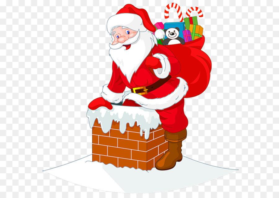 Santa Claus Es Rentier Weihnachtsclip Art Transparente Santawith