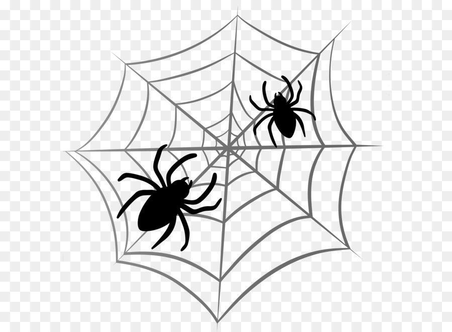 Spider Web Halloween Clip Art
