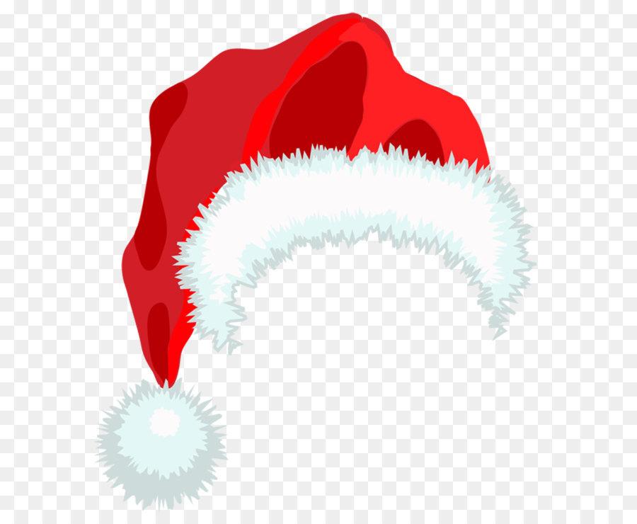 Santa Claus Hat Christmas Clip art - Santa Hat PNG Clipart ...