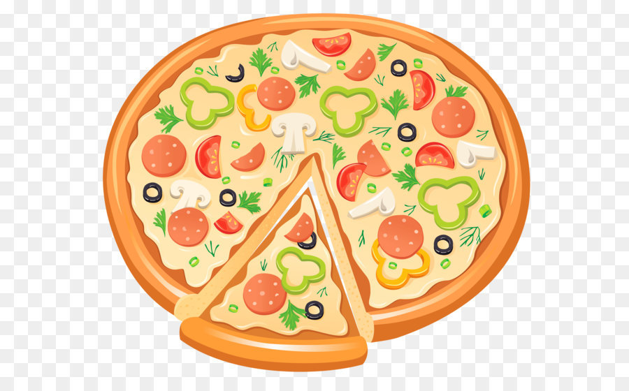 Pizza Bagel Delicatessen Clip Art
