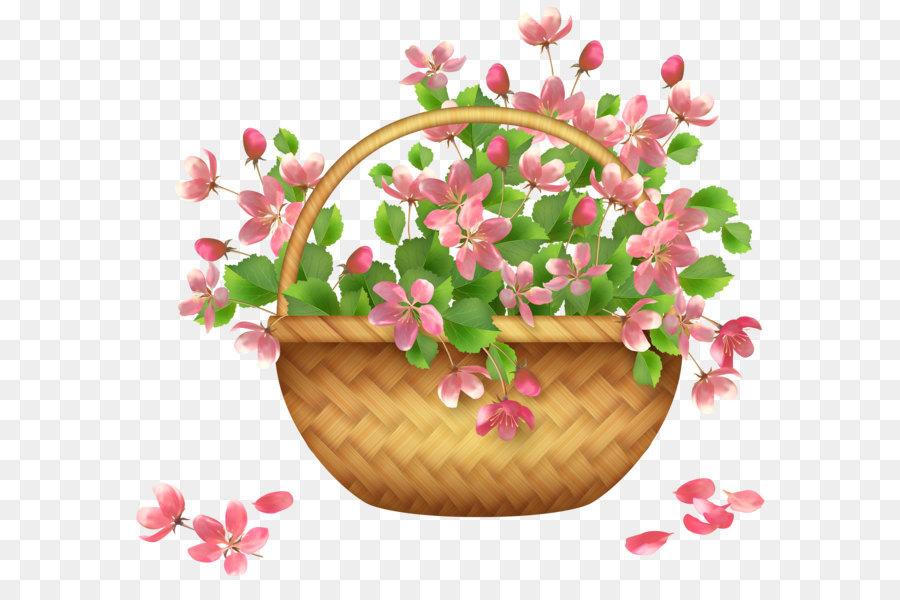Basket flower clip art spring flower basket png clipart png basket flower clip art spring flower basket png clipart mightylinksfo