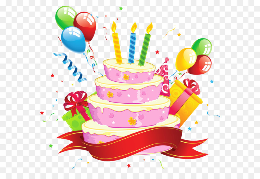 Clipart Birthday Cake Transparent