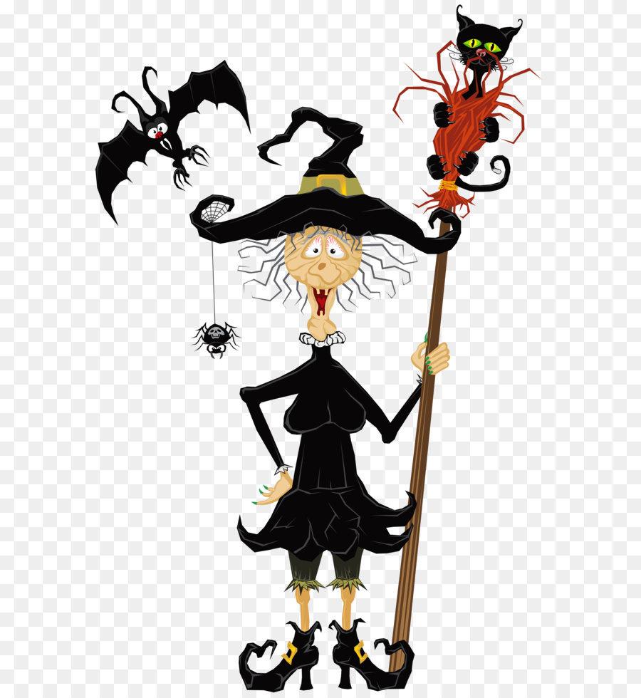 Halloween Brujería Clip art - Halloween Espeluznante Bruja PNG ...