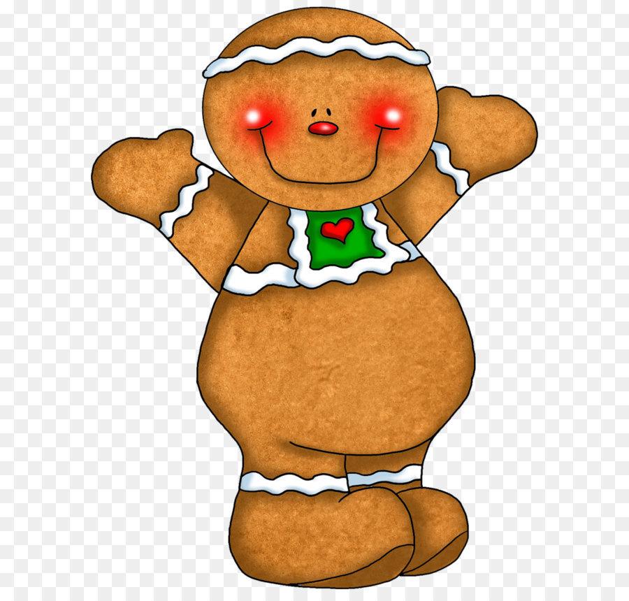 Gingerbread Man Cookie House Clip Art