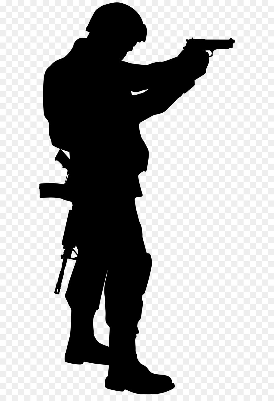 Soldier Silhouette Clip Art Soldier Silhouette Clip Art Image Png