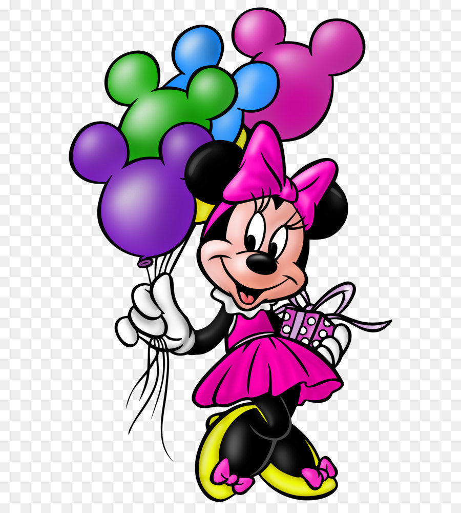 Minnie Mouse Mickey Mouse Pluto Donald Duck Birthday Minnie Mouse
