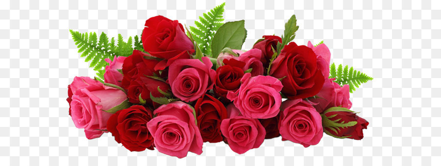 Rose Flower Clip Art Red And Pink Roses Png Picture 3707