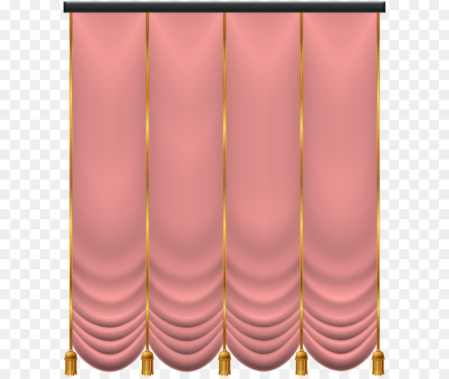 Best Pink Red Blue Curtain - Soft Pink Curtain PNG Transparent Clip Art  GX84