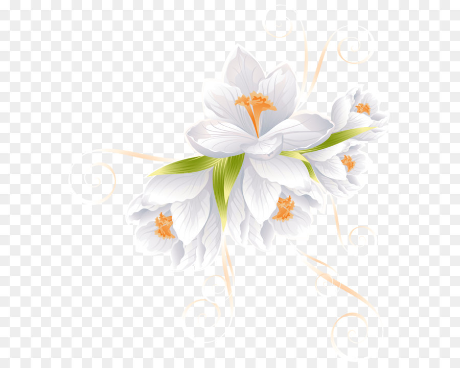 flower clip art white flower decor transparent png clip art image rh kisspng com white flower vine clipart black & white flower clipart