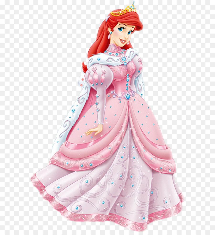 Ariel Belle The Little Mermaid Disney Princess Dress - Transparent ...