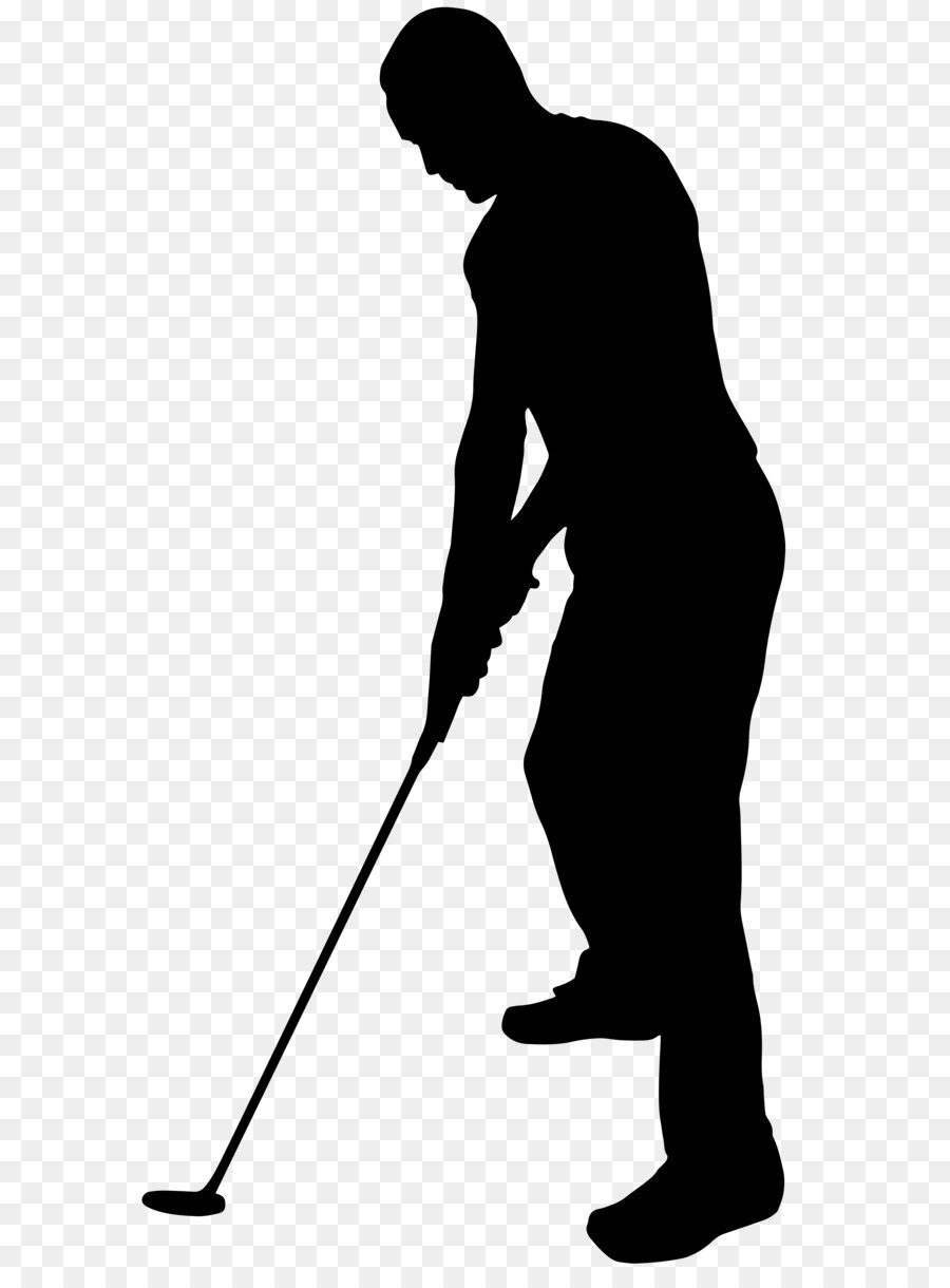 Image file formats lossless compression golf player silhouette.