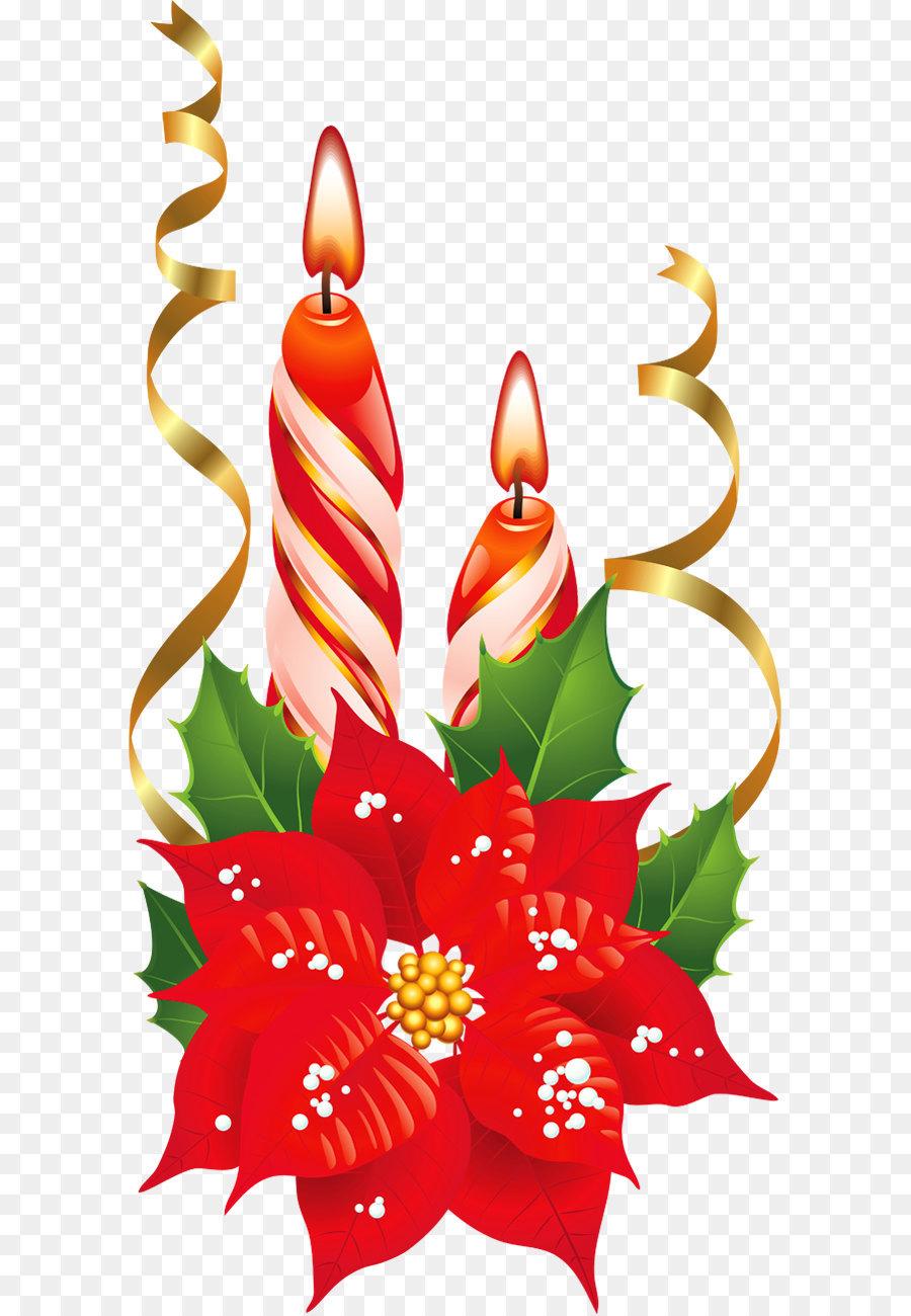 Weihnachtsstern Christmas Flower Clip art - Rote und Weiße ...