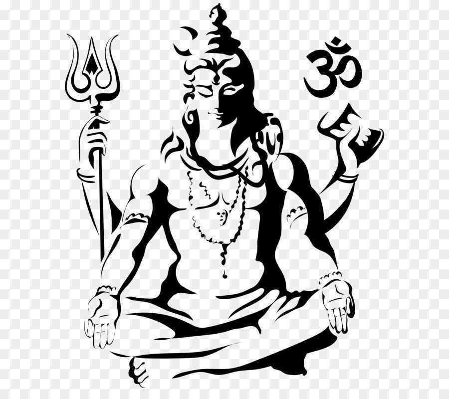 Shiva Drawing Parvati Sketch Harihara Png Clip Art Image Png