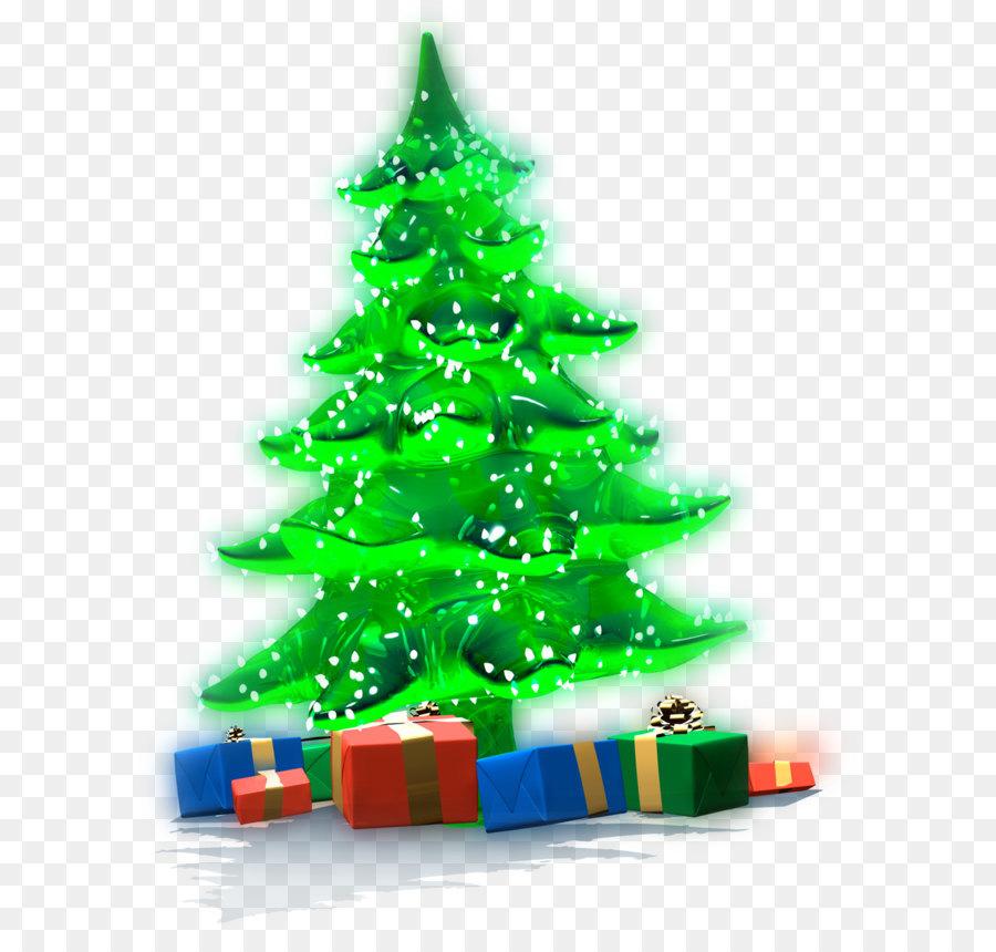 Weihnachten Geschenk, Weihnachtsbaum, Weihnachten - Leuchtende ...