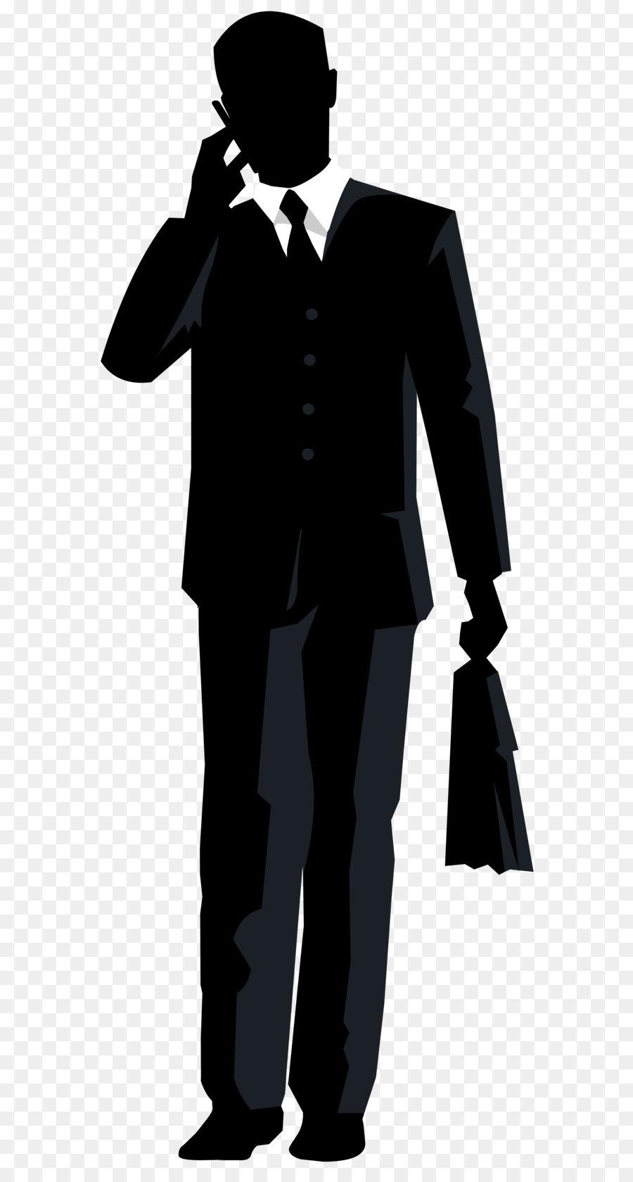 clip art businessman silhouette png transparent clip art