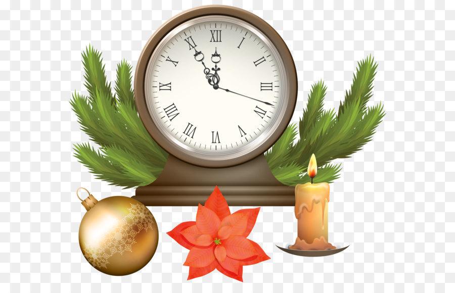 Public Holiday Christmas Clock Clip Art