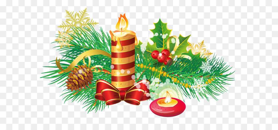 Weihnachten Dekoration Kerze Clip Art Transparente Weihnachts