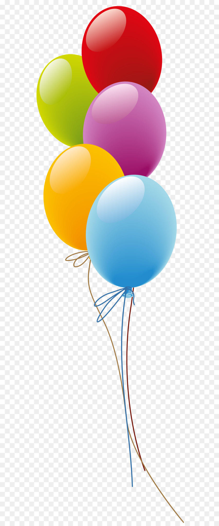 Balloon Birthday Gift Flower Delivery Clip Art