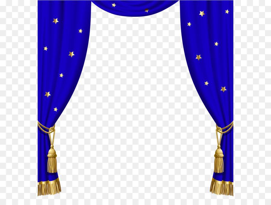Window Blind Curtain Blue