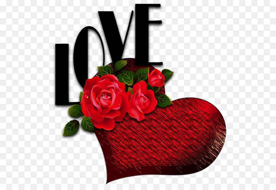 Red Roses Heart Love Flower Red Heart With Roses And Love Png