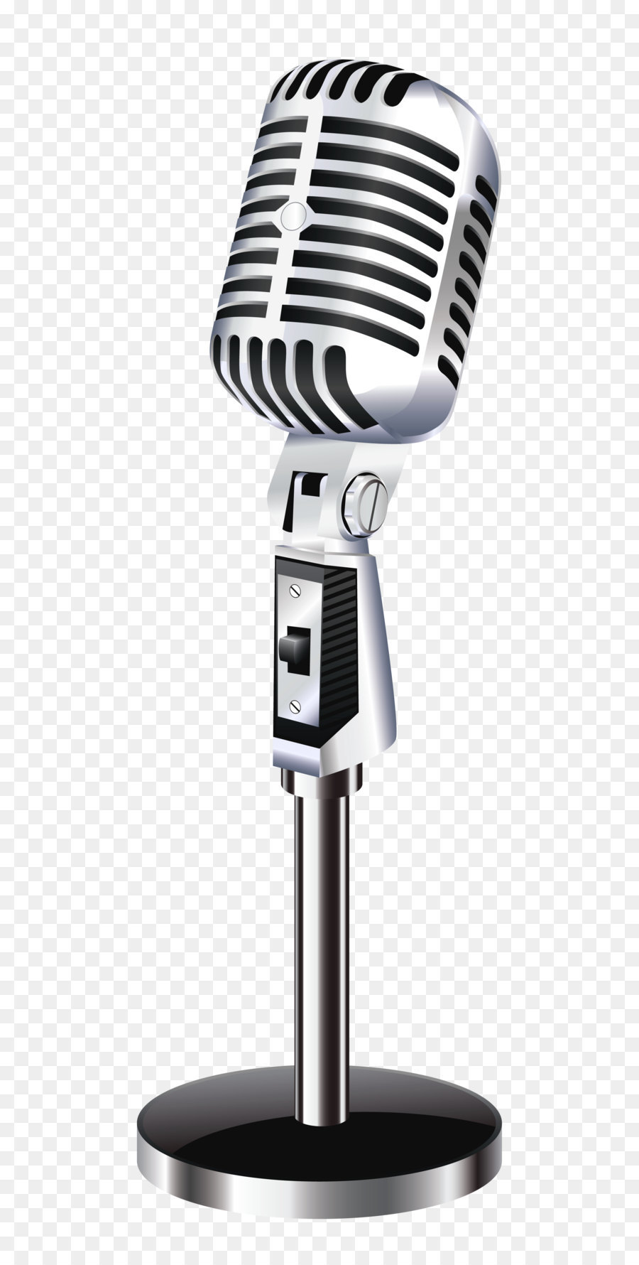 Old Fashioned Microphone Stand