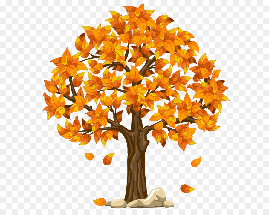 autumn tree clip art transparent fall orange png clipart picture rh kisspng com fall leaves tree clipart fall tree clipart images