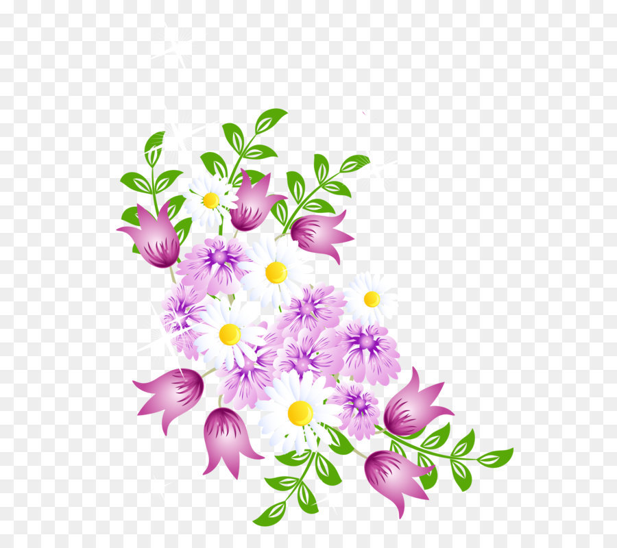 Flower Clip Art Spring Flowers Decor Png Picture Clipart Png