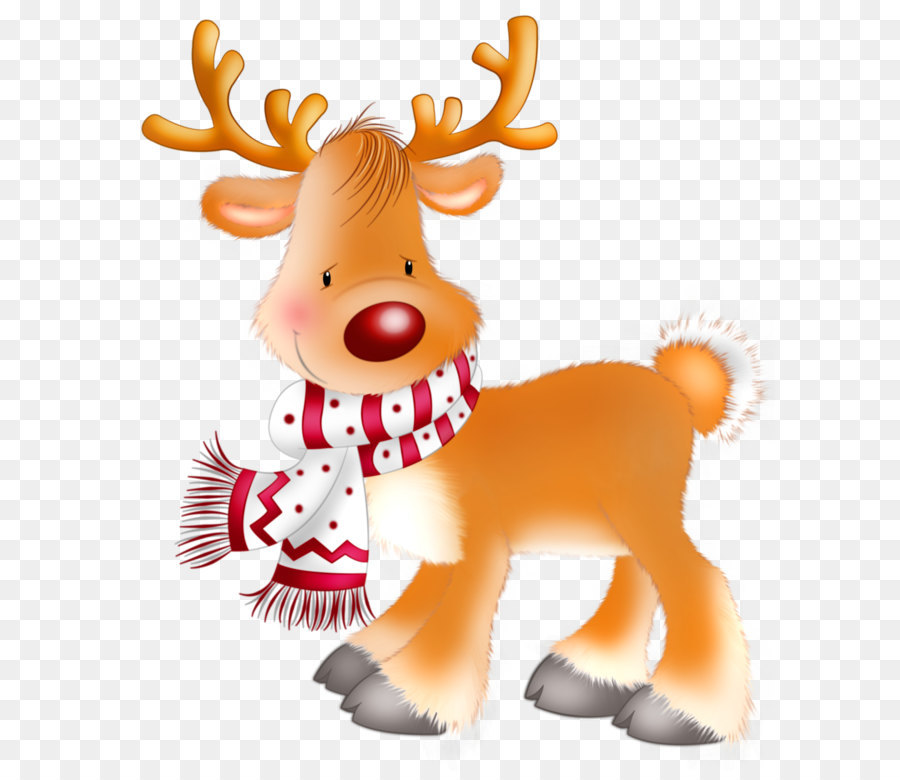 rudolph santa clauss reindeer christmas clip art rudolph png clipart picture