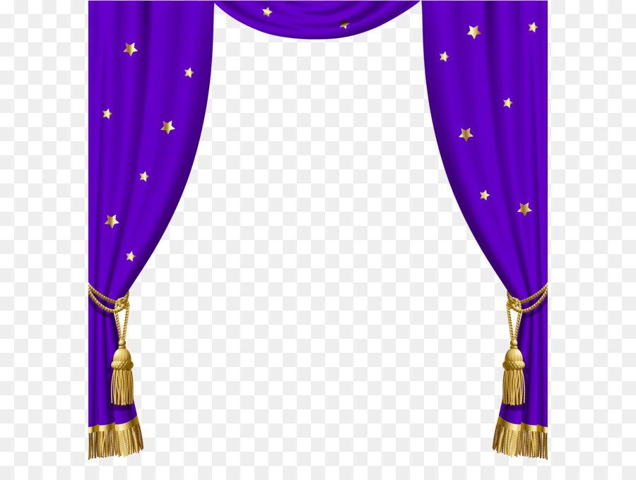 Window Blind Curtain Blue Clip Art