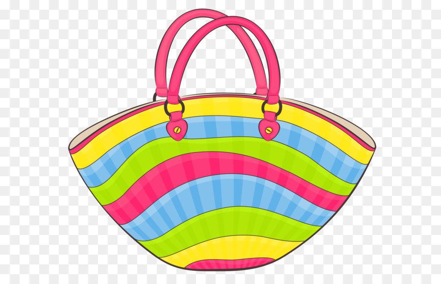 Bag Beach Clip Art Transparent Beach Bag Png Clipart Png Download