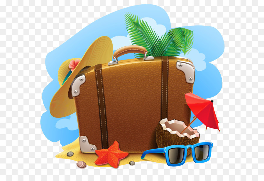 Travel Suitcase Summer Vacation Clip Art