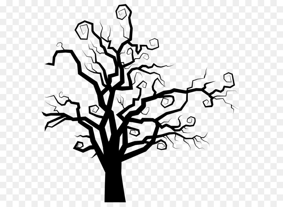 the halloween tree clip art spooky tree silhouette png clipart image