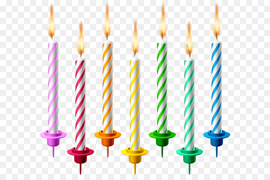 Birthday Cake Candle Clip Art Birthday Candles Png